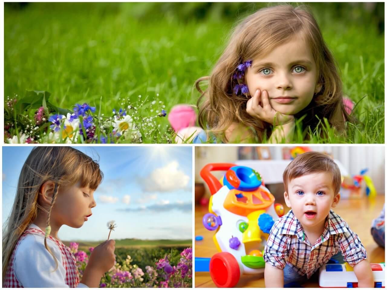 На фото изображены дети (часть 2).