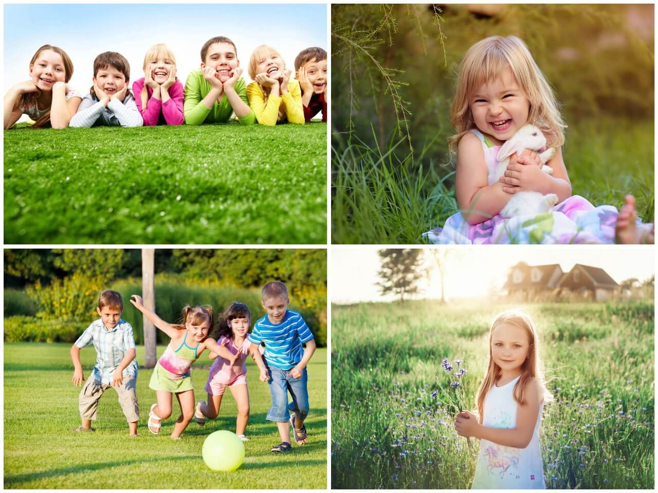 На фото изображены дети (часть 1).