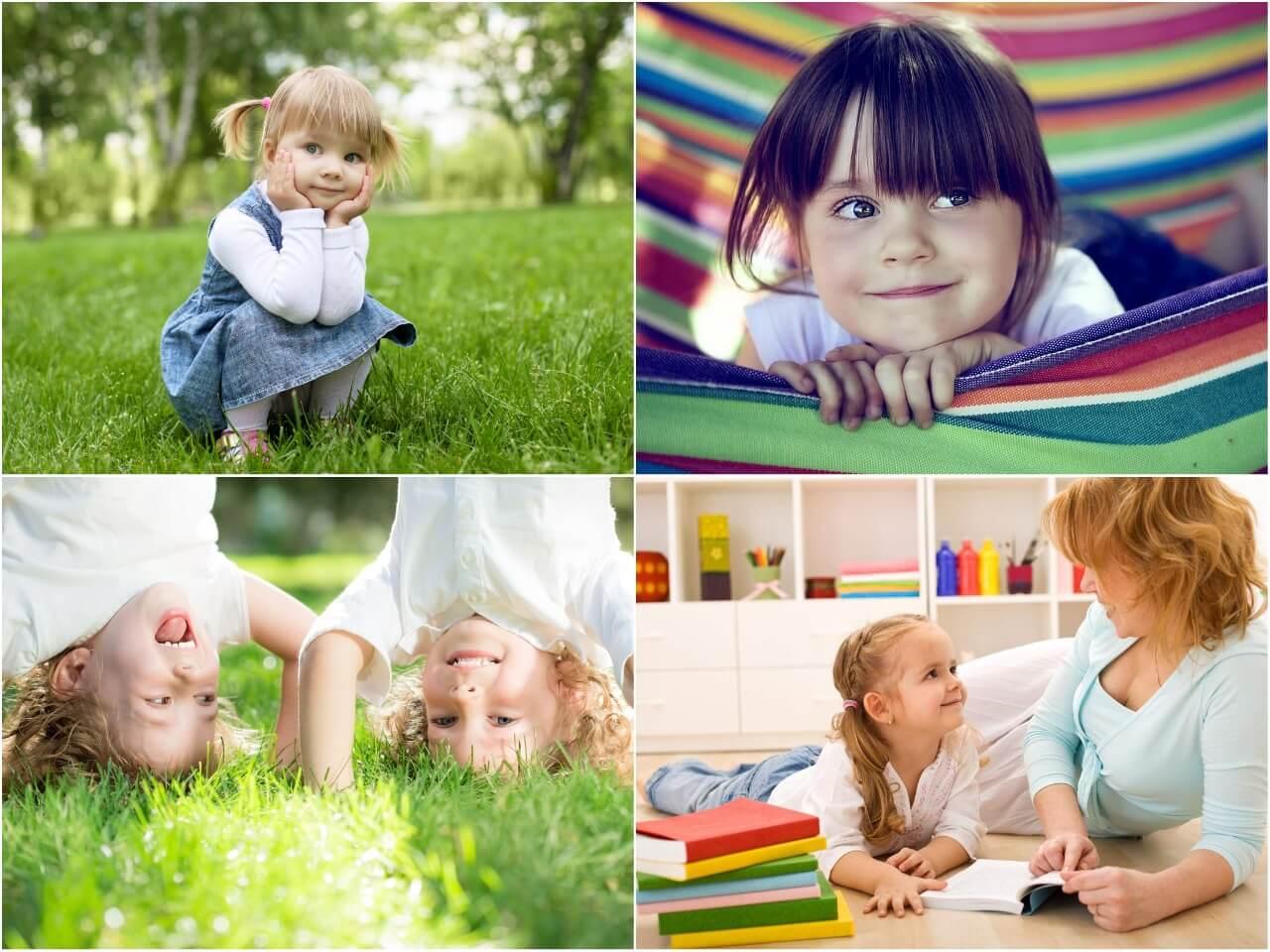 На фото изображены дети (часть 3).