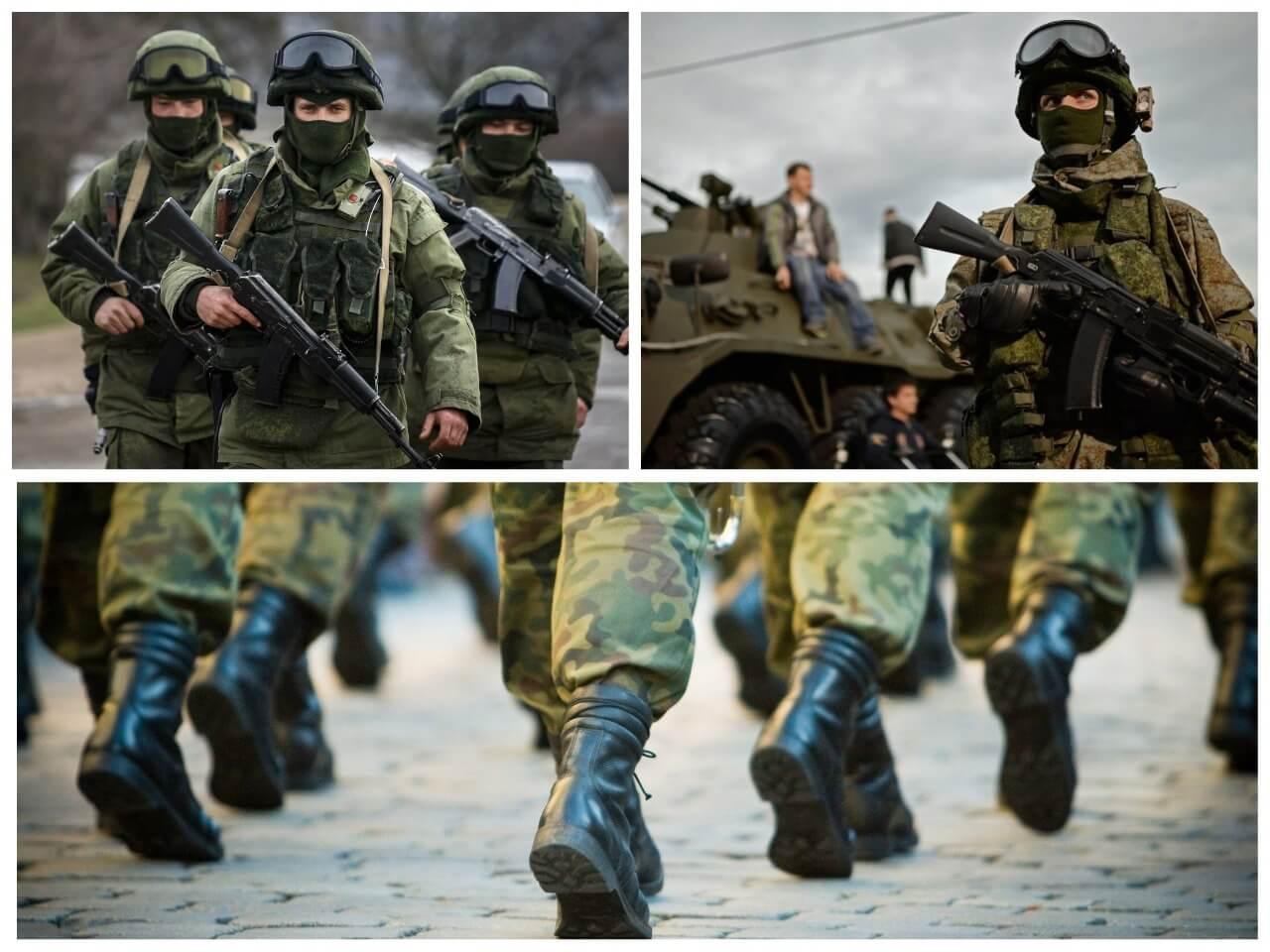На фото изображены солдаты (часть 2).
