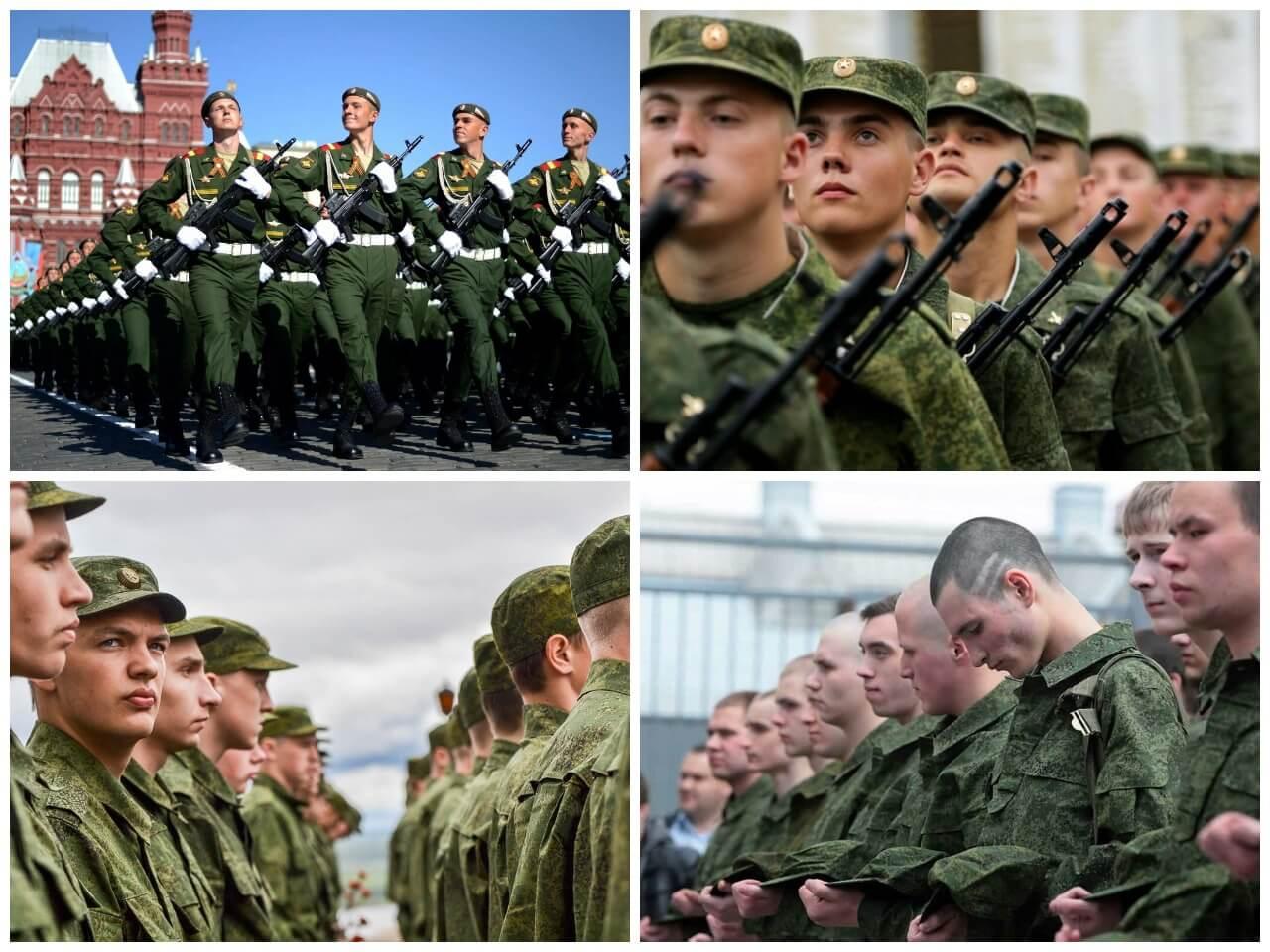 На фото изображены солдаты (часть 1).