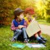 Дети в парке.