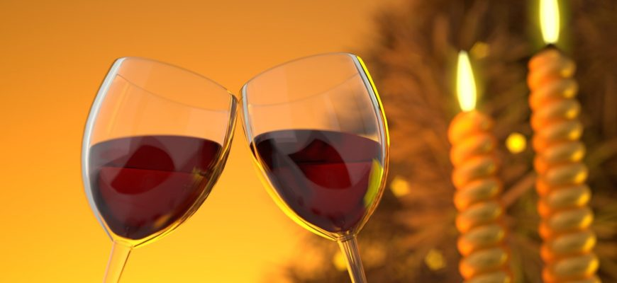 Два бокала. Красивые тосты в стихах на день рождения мужу