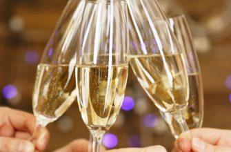 Звон бокалов с шампанским. Тосты за родителей.