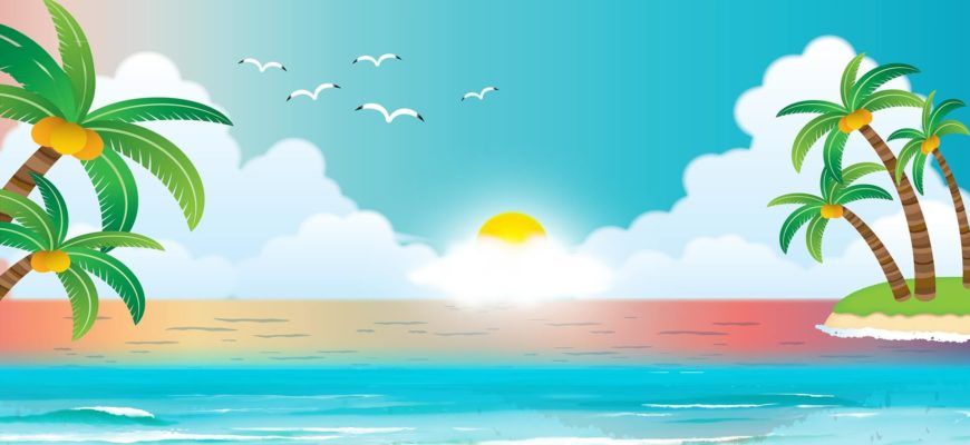 Море и солнце. Подборка красивых поговорок про лето