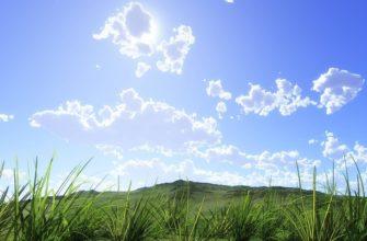 Небо и облака. Подборка поговорок про небо