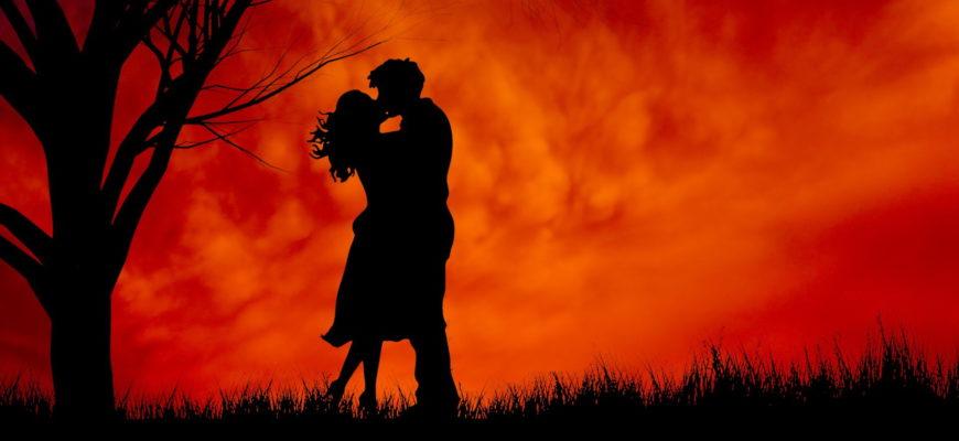 Пара на закате. Подборка фраз про любовь на испанском с переводом