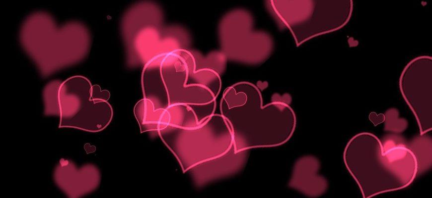 Сердечки. Подборка красивых фраз про любовь на английском